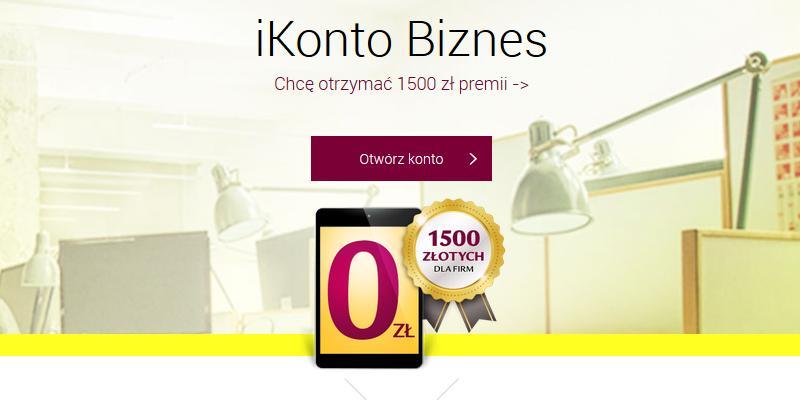 Nawet 1500 zł dla aktywnie korzystających z iKonta Biznes w Alior Banku