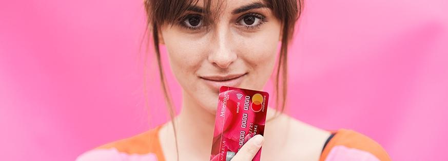 200 zł za wyrobienie karty kredytowej w Millennium Banku – pula nagród ograniczona