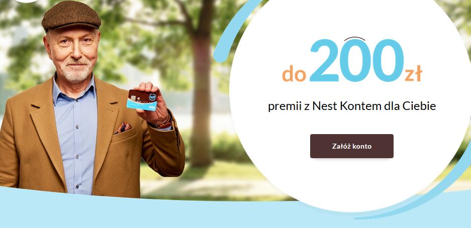 Darmowe konto bankowe w Nest Banku + 200 zł w promocji – pula nagród tylko 500 wniosków
