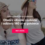 140 zł z eKontem Osobistym w mBanku w 19 edycji Money Manii – pula nagród ograniczona