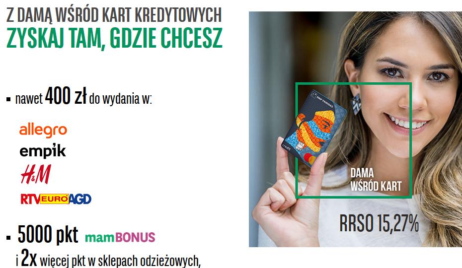 Nawet 400 zł w kolejnej edycji promocji karty kredytowej w BNP Paribas – pula nagród ograniczona