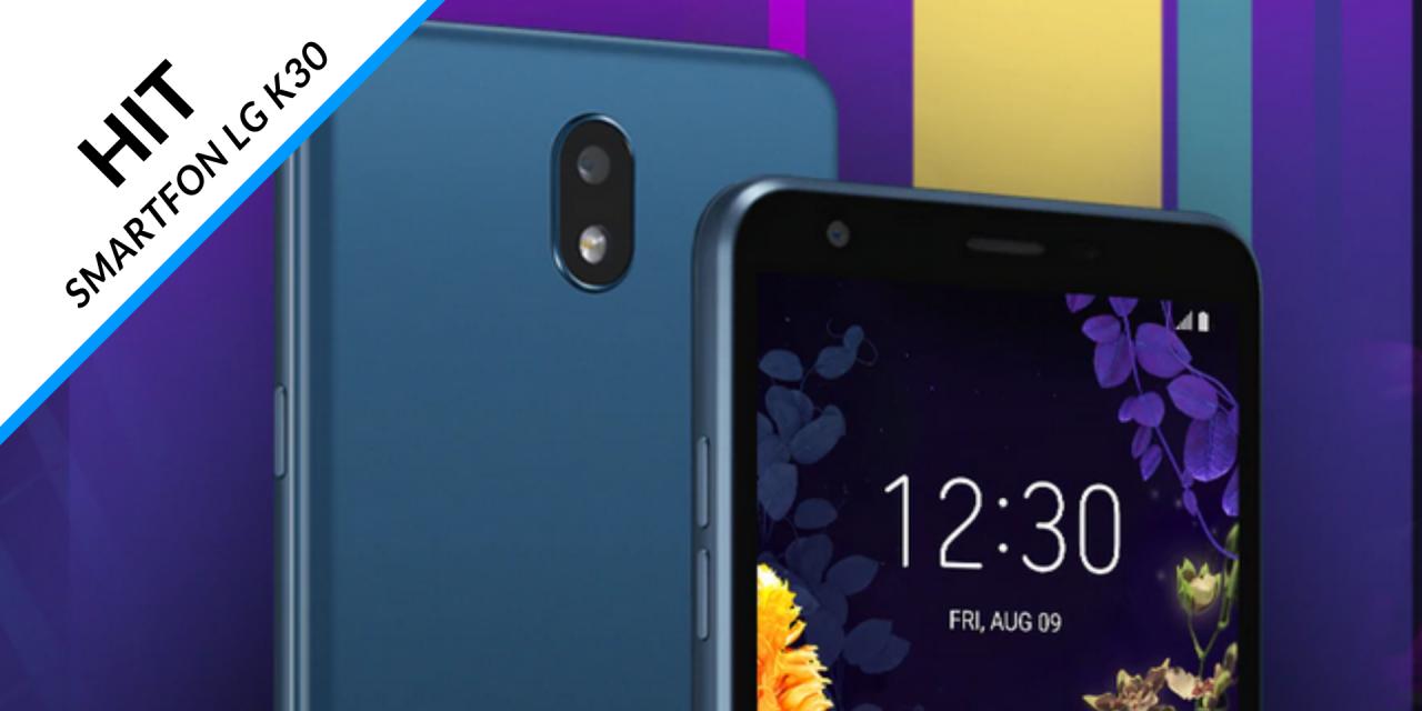HIT! Smartfon LG K30 Dual Sim LMX320EMW w promocji karty kredytowej Citi Simplicity