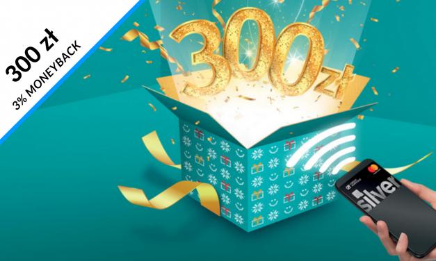 Nawet 300 zł moneybanku w 2 edycji promocji karty kredytowej w Credit Agricole