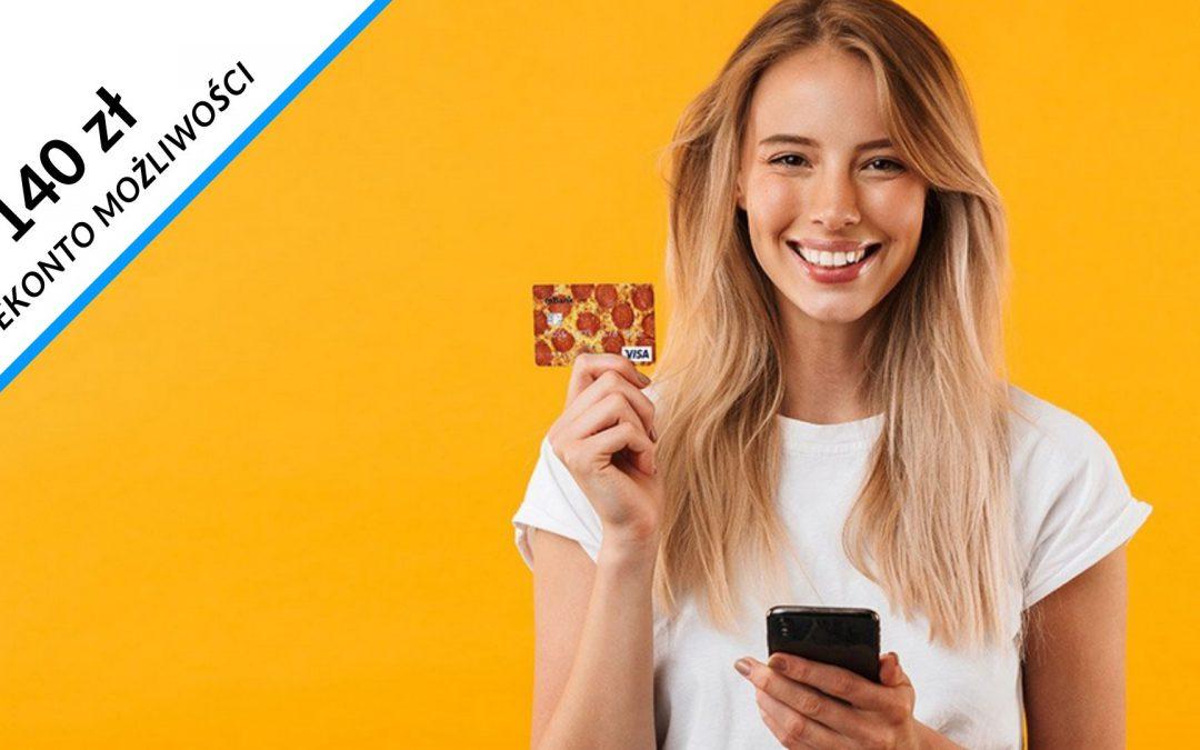 Nawet 140 zł w promocji eKonta możliwości dla osób w wieku 18 – 24 lata