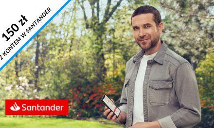 HIT! 150 zł w gotówce + nawet 350 zł w pozostałych promocjach w Santander Bank Polska