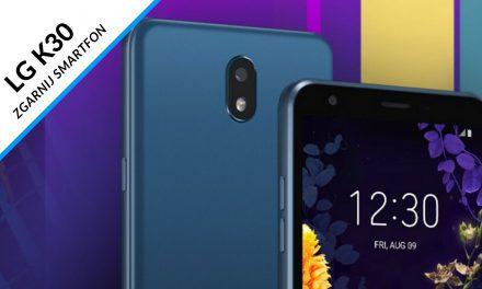 HIT! Kolejna okazja na SMARTFON LG K30 Dual Sim LMX320EMW o wartości599 zł w promocji karty kredytowej Citi Simpliciti