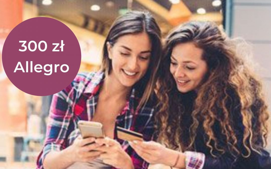 Nawet 300 zł do wykorzystania na Allegro w promocji karty kredytowej w BNP Paribas – proste warunki promocji