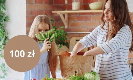 Bon do sieci sklepów Biedronka o wartości 100 zł w promocji karty kredytowej w mBanku