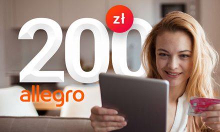 200 zł do wykorzystania na Allegro w listopadowej promocji karty kredytowej w Millennium Banku