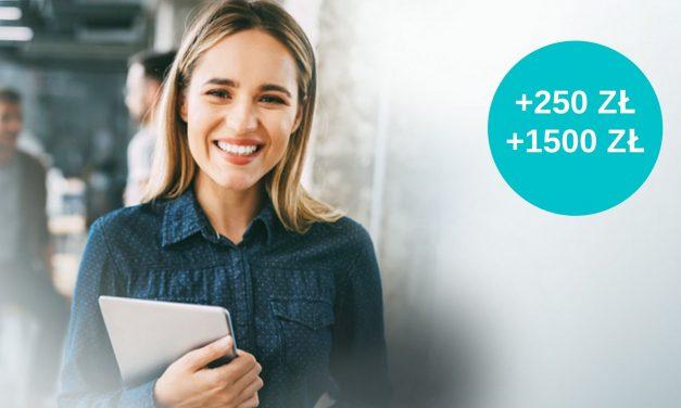250 zł na start od Bankier.pl + nawet 1500 zł w stałej promocji Alior Banku za aktywne korzystanie z konta firmowego iKonta Biznes