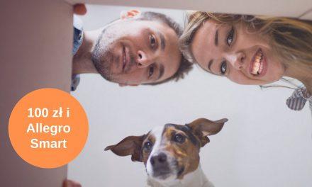 Karta podarunkowa o wartości 100 zł + pakiet Allegro Smart na rok w promocji mKonta Intensive w mBanku