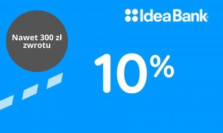 Nawet 300 zł zwrotu za ZUS w drugiej edycji promocji Konta Firma+ w Idea Banku – pula nagród ograniczona