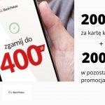 200 zł za kartę kredytową + 100 zł za konto przekorzystne + 50 zł w punktach Bezcenne Chwile i 100 zł za polecenie konta – kumulacja w Pekao S.A.