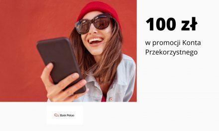 Do 100 zł za płatności kartą w promocji Konta Przekorzystnego w Banku Pekao S.A. + premie w pozostałych promocjach