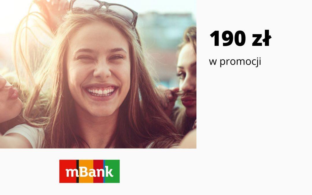 Nawet 190 zł w promocji eKonta możliwości w mBanku – otwórz konto na selfie i spełnij pozostałe warunki promocji