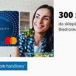 300 zł na zakupy w sieci sklepów Biedronka w promocjikarty kredytowej Citi Simplicity w Citi Banku