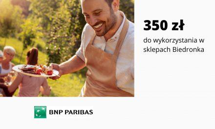 HIT! 350 zł do sklepów Biedronka w promocji Konta Otwartego na Ciebie w BNP – pula nagród ograniczona
