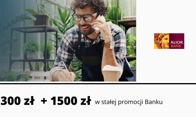 Zgarnij Premię z iKonto Biznes Alior Banku – łatwe 300 zł premii w dziesiątej edycji promocji