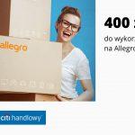 Nawet 400 zł do wykorzystania na Allegro w IV edycji promocji karty kredytowej Citi Simplicity w Citi Banku