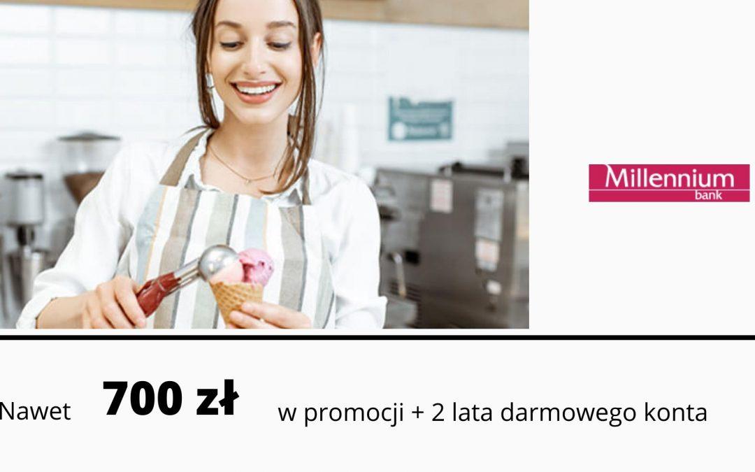 Nawet 700 zł w wakacyjne edycji promocji Konta firmowego Mój Biznesw Millennium Banku – pula nagród ograniczona